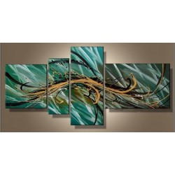 Teal Abstract | Oil Painting Abstract art Gallery