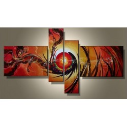 The Sun | Oil Painting Abstract art Gallery
