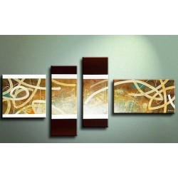 Brown Abstract IV | Oil Painting Abstract art Gallery