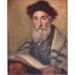 Sabbath by Lazar Krestin | Jewish Art Oil Painting Gallery