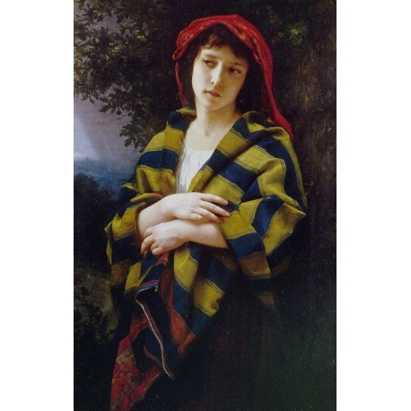 Pendant Lorage 1872 by William Adolphe Bouguereau - Art gallery oil painting reproductions