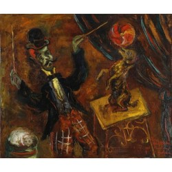 Dressur by Issachar Ber Ryback Jewish Art Oil Painting Gallery