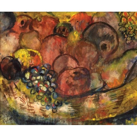 Fruits by Issachar Ber Ryback Jewish Art Oil Painting Gallery