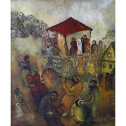 Jewish Wedding by Issachar Ber Ryback Jewish Art Oil Painting Gallery