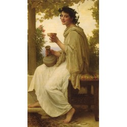 Peace Love and Happiness by William Adolphe Bouguereau - Art gallery oil painting reproductions