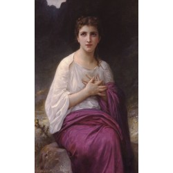 Psyche by William Adolphe Bouguereau - Art gallery oil painting reproductions