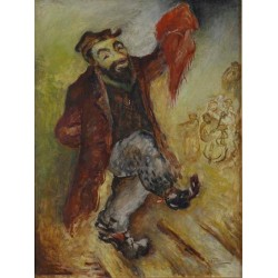 The Dancer by Issachar Ber Ryback Jewish Art Oil Painting Gallery