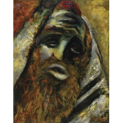 Rabbi by Issachar Ber Ryback Jewish Art Oil Painting Gallery
