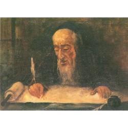 Pisarz Tory by Artur Markowicz -Jewish Art Oil Painting Gallery