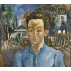 Au Bon Vin de France by Adolphe Feder - Jewish Art Oil Painting Gallery