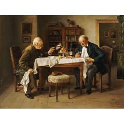 A Rabbi by Isidor Kaufmann - Jewish Art Oil Painting Gallery