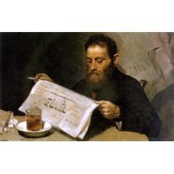 Jewish Artisan, 1914 by Yehuda Pen - Jewish Art Oil Painting Gallery