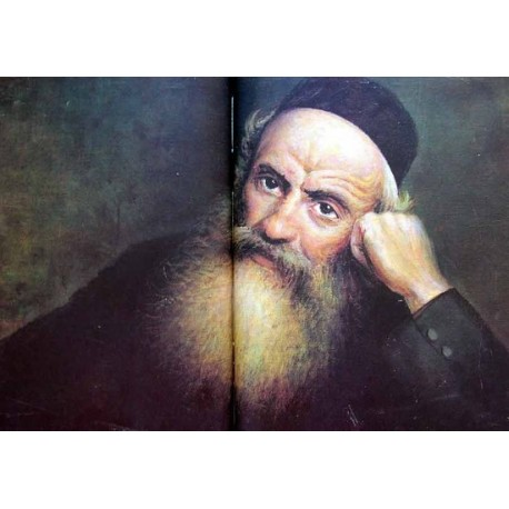 Portrait of a Jew by Yehuda Pen - Jewish Art Oil Painting Gallery
