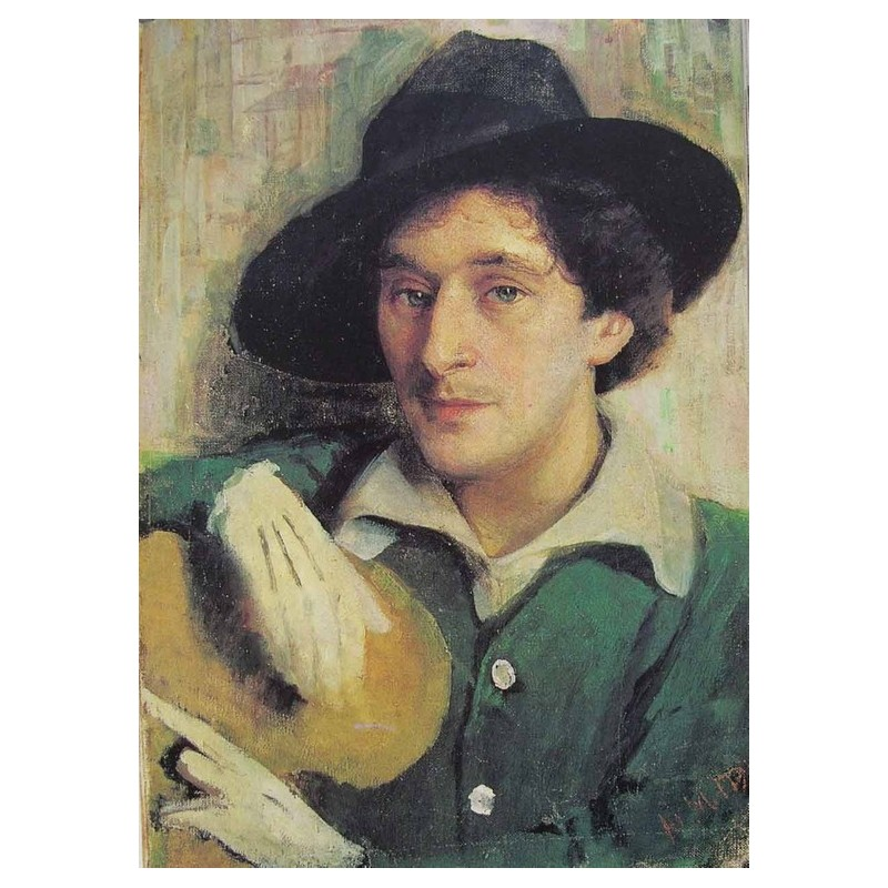 Portrait of Marc Chagall, 1915 by Yehuda Pen oil painting | jewish ...