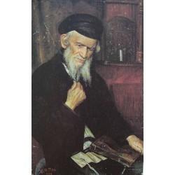 Yury Pen, Talmudist by Yehuda Pen - Jewish Art Oil Painting Gallery