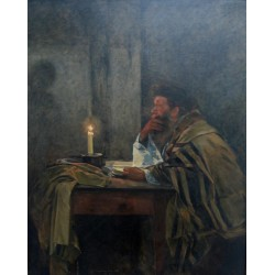 The Last Prayer by Samuel Hirszenberg- Jewish Art Oil Painting Gallery