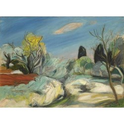 Sudfranzosische Landschaft by Rudolf Levy - Jewish Art Oil Painting Gallery