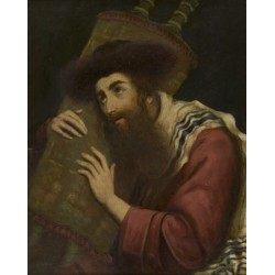 Moritz by Maurycy Gottlieb- Jewish Art Oil Painting Gallery