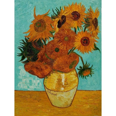 Sunflowers By Vincent Van Gogh Art Gallery Oil Painting