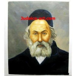 Chofetz Chaim | Jewish Art Oil Painting for sale