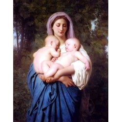Charity by William Adolphe Bouguereau - Art gallery oil painting reproductions