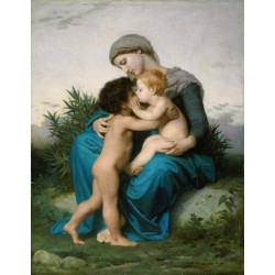 Fraternal Love by William Adolphe Bouguereau - Art gallery oil painting reproductions