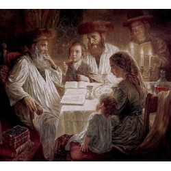 Elena Flerova - Pesach | Jewish Art Oil Painting Gallery