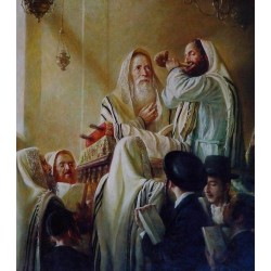 Elena Flerova - Rosh Hashanah   Jewish Art Oil Painting Gallery