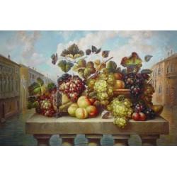 Elena Flerova - Still Life III | Jewish Art Oil Painting Gallery