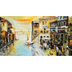 Wedding in Venice 20x36 inches-Closeout