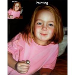 1 Subject Custom Oil Painting