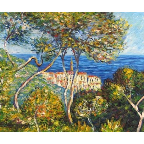 Bordighera by Claude Oscar Monet - Art gallery oil painting reproductions