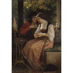 The Proposal by William Adolphe Bouguereau - Art gallery oil painting reproductions