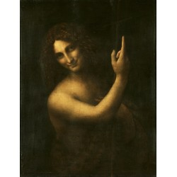 St. John the Baptist by Leonardo Da Vinci