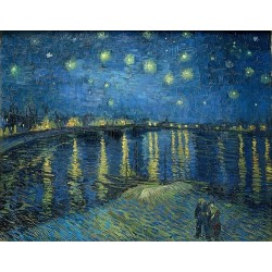 Starry Night Over the Rhone (1888) By Vincent van Gogh