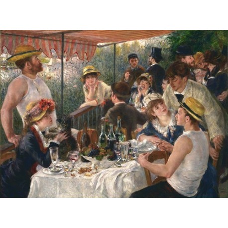 Pierre-Auguste Renoir-Luncheon of the Boating Party (1880