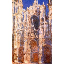 Rouen Cathedral 1894 By Claude Monet