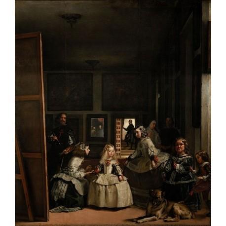 Las Meninas 1656 by Diego Velazquez