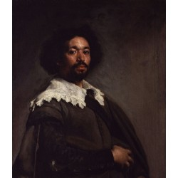 Portrait of Juan de Pareja (c. 1650) by Diego Velazquez