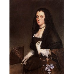 The Lady with a Fan by Diego Velazquez