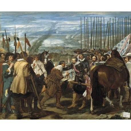 The Surrender of Breda (1634) by Diego Velazquez
