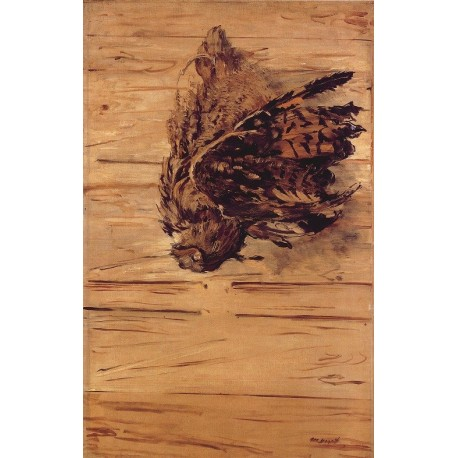 Dead Eagle Owl (1881) By Edouard Manet