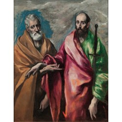 Saint Peter and Saint Paul (1590) By El Greco