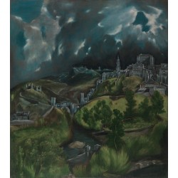 View of Toledo (1596) By El Greco