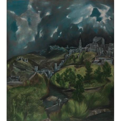 View of Toledo (1596) By El Greco