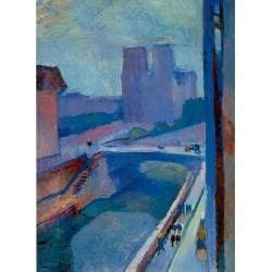Notre-Dame, une fin d'apres-midi (1902) by Henri Matisse