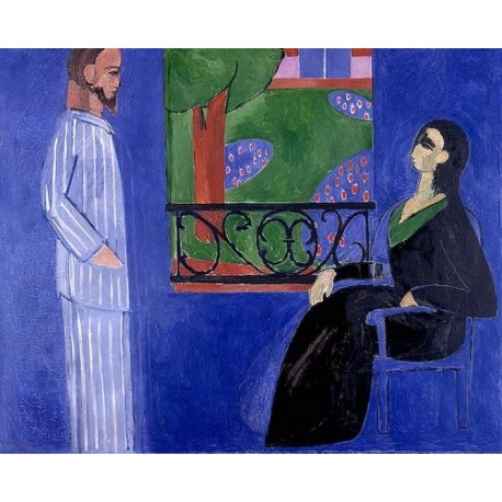 The Conversation (1908) by Henri Matisse