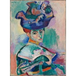Woman with a Hat (1905) by Henri Matisse
