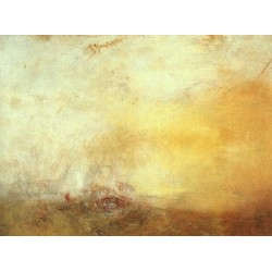 Sunrise with Sea Monsters (c. 1845) by Joseph Mallord William Turner