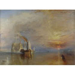 The Fighting Temeraire Tugged to Her Last Berth to be Broken by Joseph Mallord William Turner